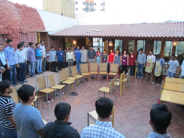 Multidots visiting Seva Cafe – The Joy of Giving