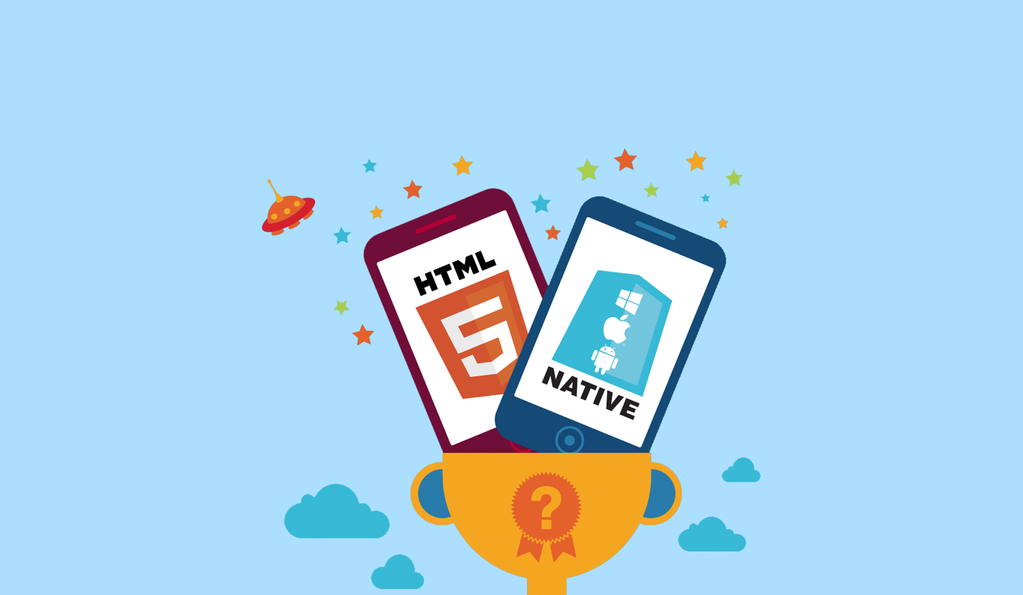 Difference Between Native vs Hybrid Android App Development.