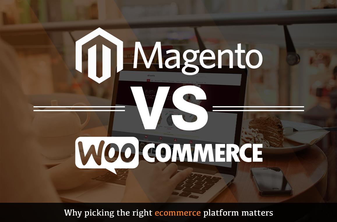Magento vs WooCommerce – infographic