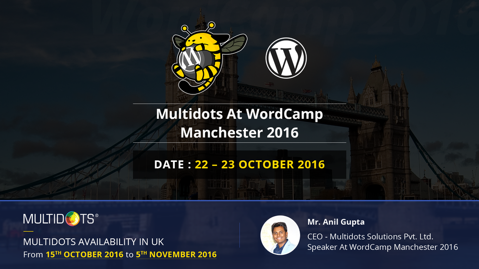 Multidots At WordCamp Manchester 2016