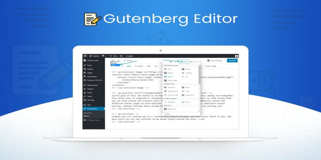 Gutenberg, a Revolutionary WordPress Editor – Everything is About to Change