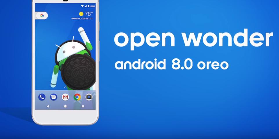 Open Wonder Android 8.0 oreo
