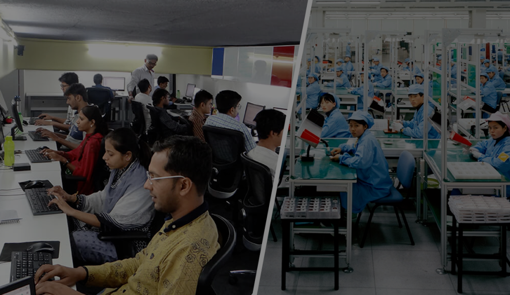 Who Will Win the War? India's Outsourcing or China's Manufacturing?