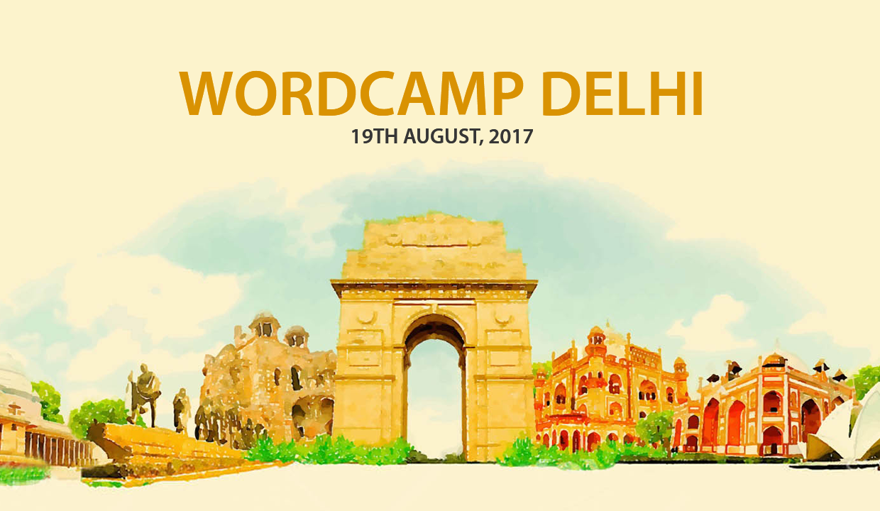 Sponsoring WordPress Knowledge-Drizzle for All – Delhi WordCamp 2017