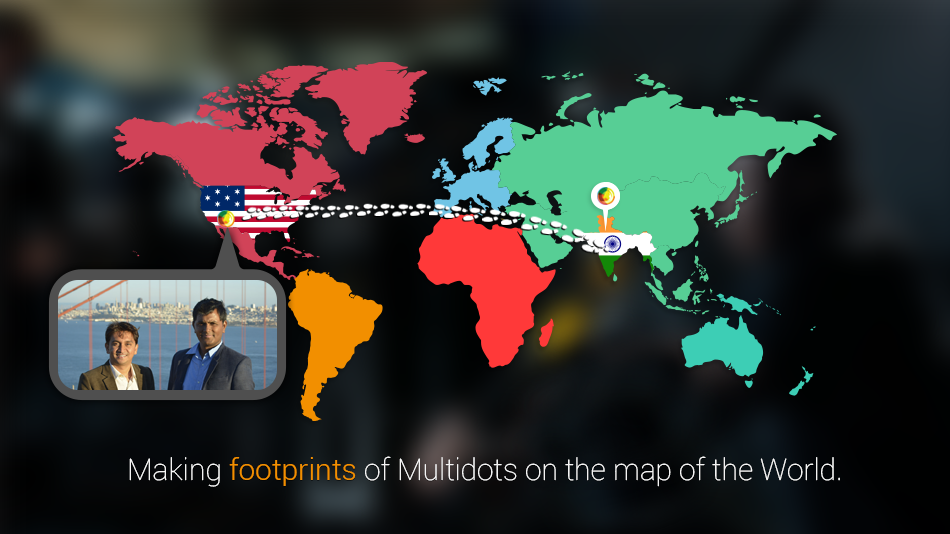 Multidots international footprints
