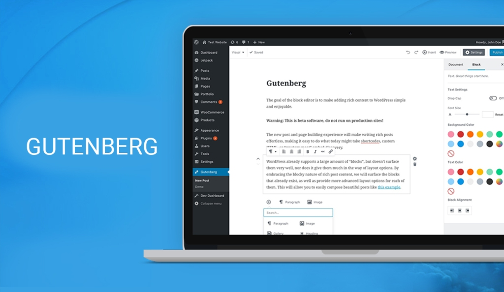 """All you need to know about """"WordPress Gutenberg"""""""