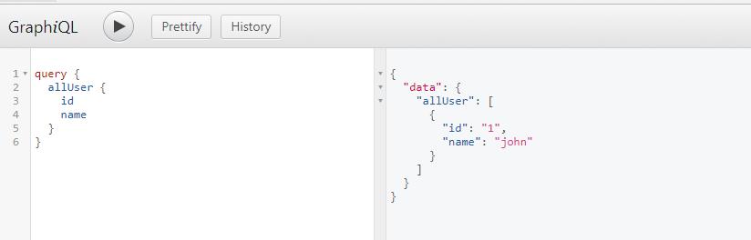 graphql query