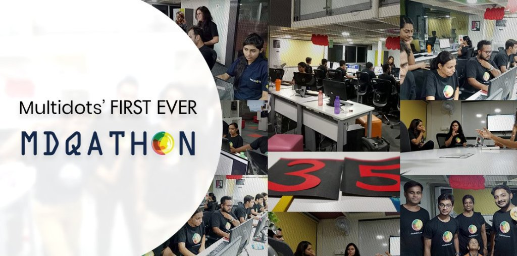 Multidots first ever MDQAthon: Inception to Achieve Excellence