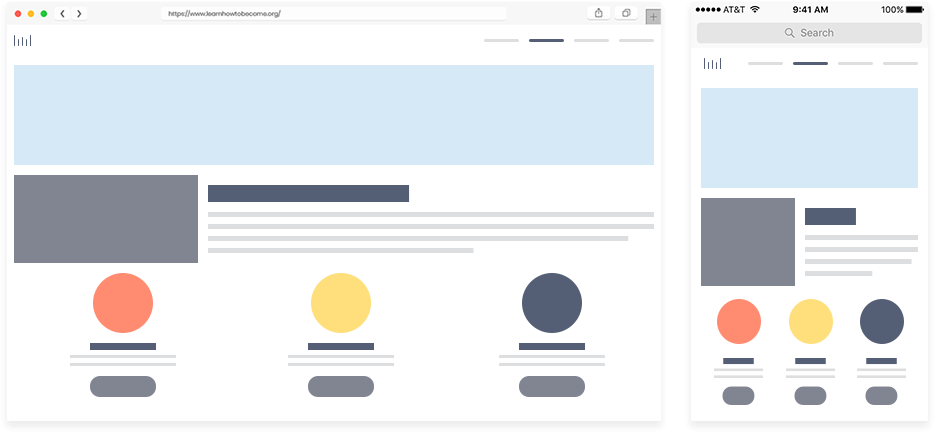 Fluid Page Layout