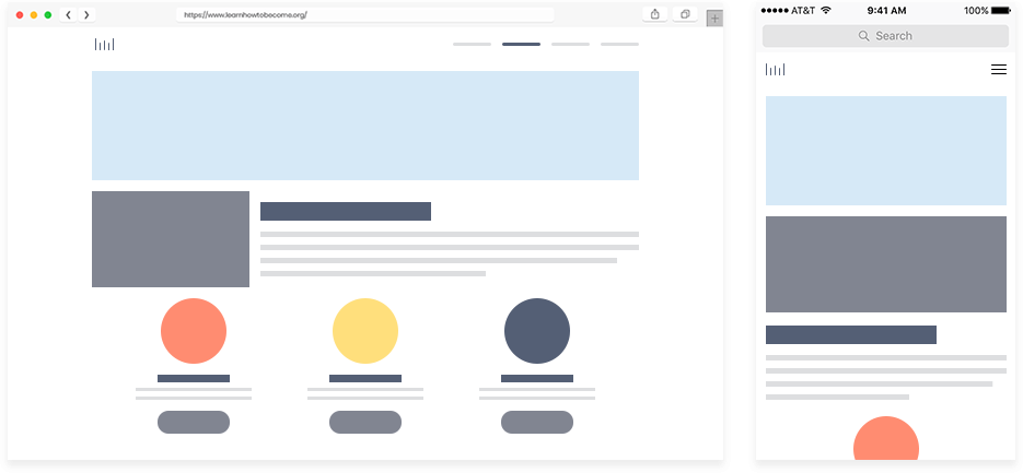 Responsive Page Layout