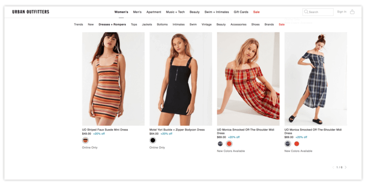 Pagination in Ecommerce