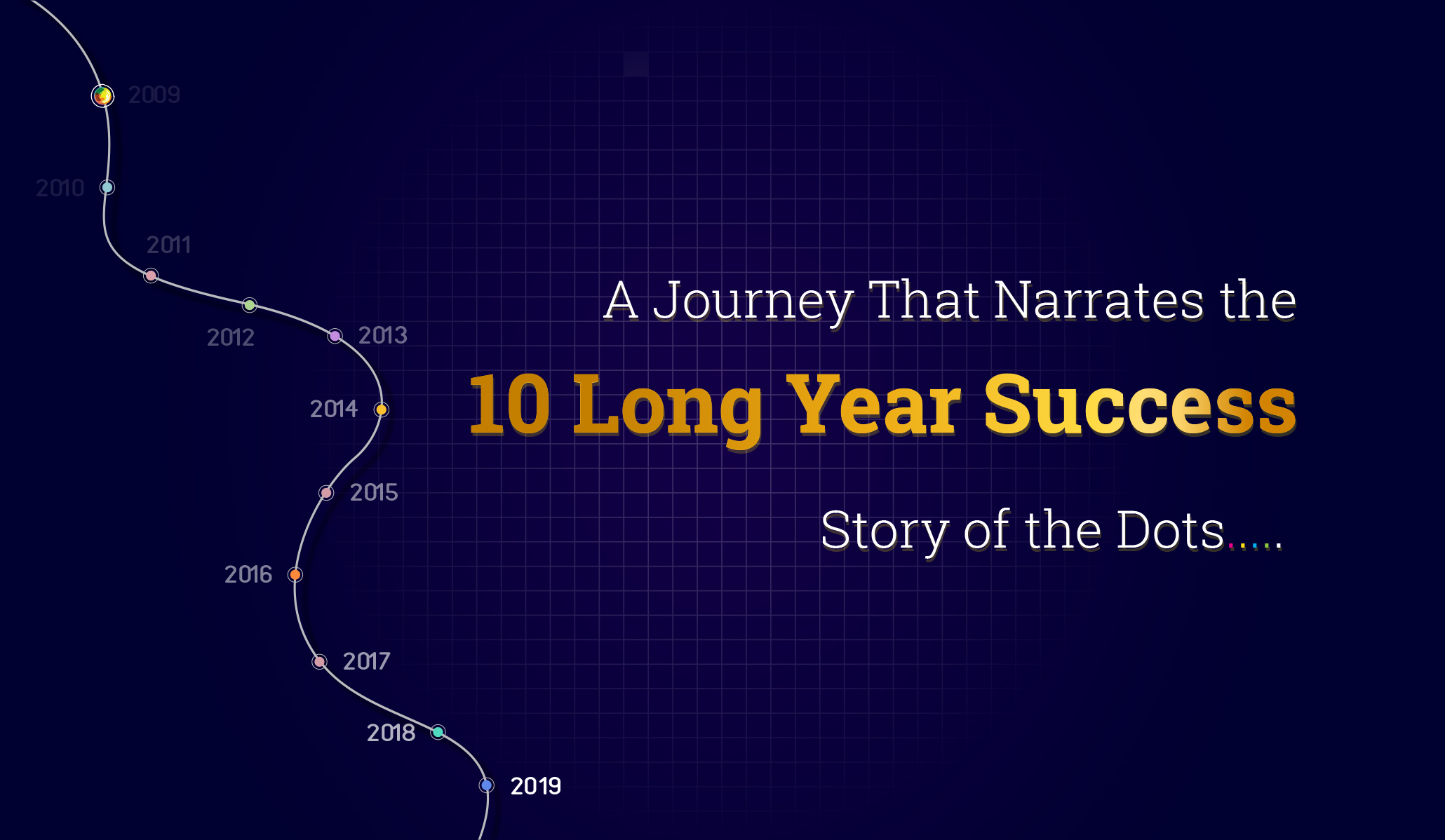A Journey That Narrates the 10 Long Year Success Story of the Dots…