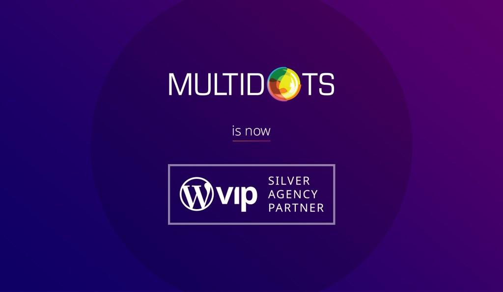 Multidots Shines as a New WordPress VIP Silver Agency Partner