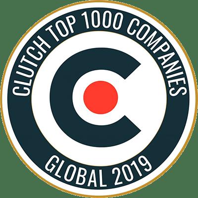 Clutch Top 1000 Companies - Multidots Badge