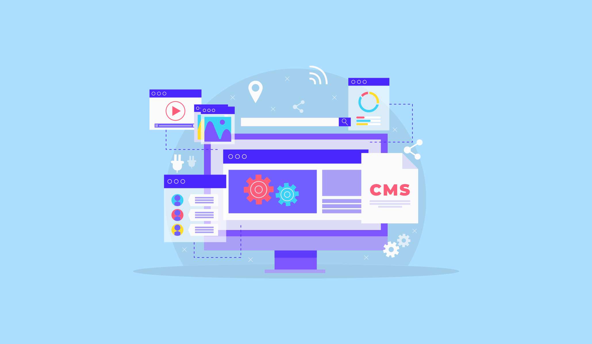 5 Things to Keep in Mind While Choosing the Right CMS for Your Website