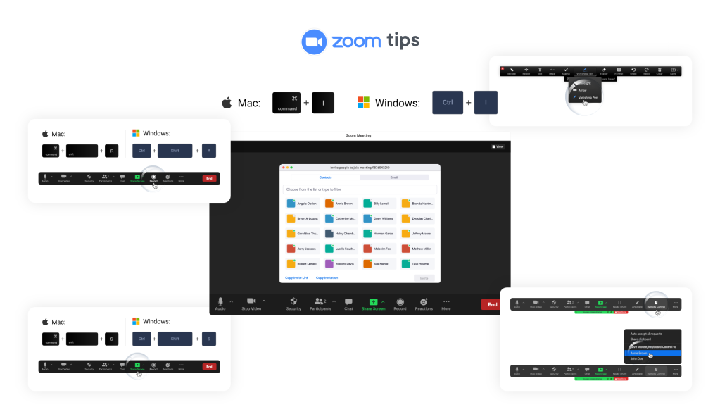 5 Time-saver Tips for Zoom